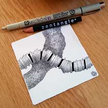 Zentangle® for online workshops